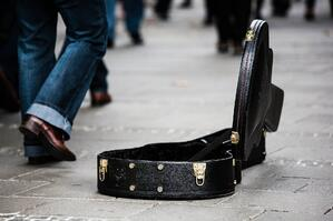 From Free to Fee: Playing for exposure - Busking