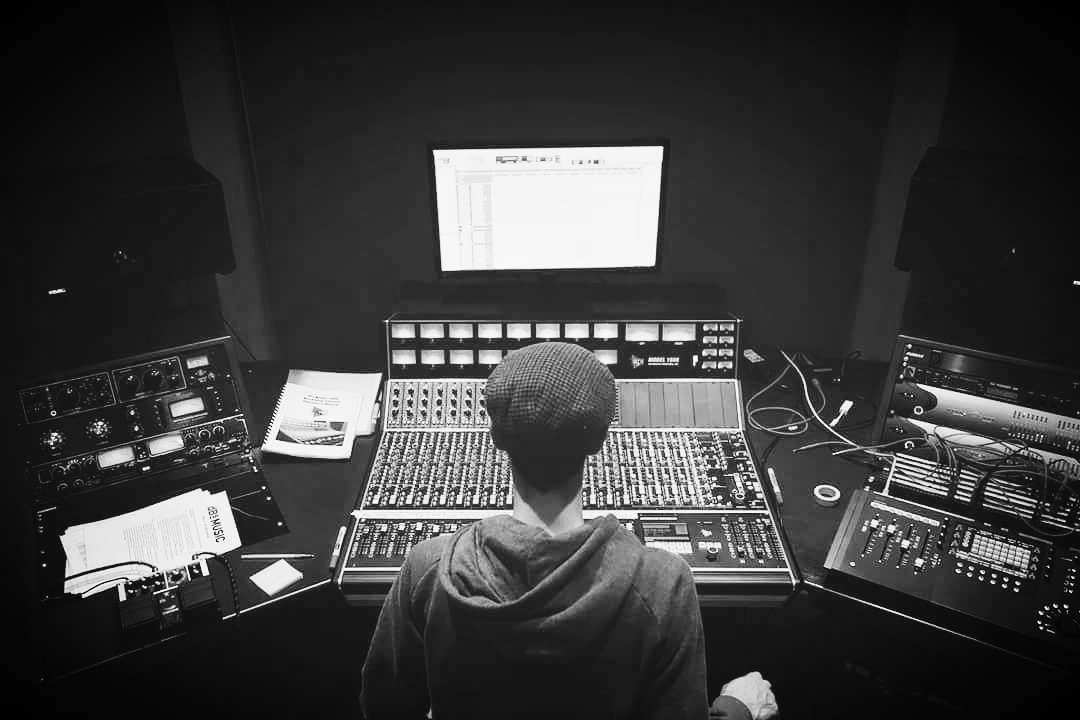 Producing music with the Api mixing console in Bristol