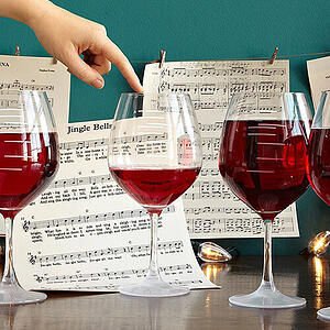Musical Wine Glasses Christmas gift music