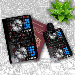 Pioneer DJ Passport Case and Luggage Tag