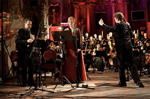Wlad and orchestra
