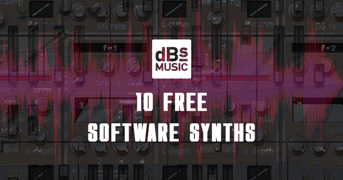 10 of the best free synth plugins