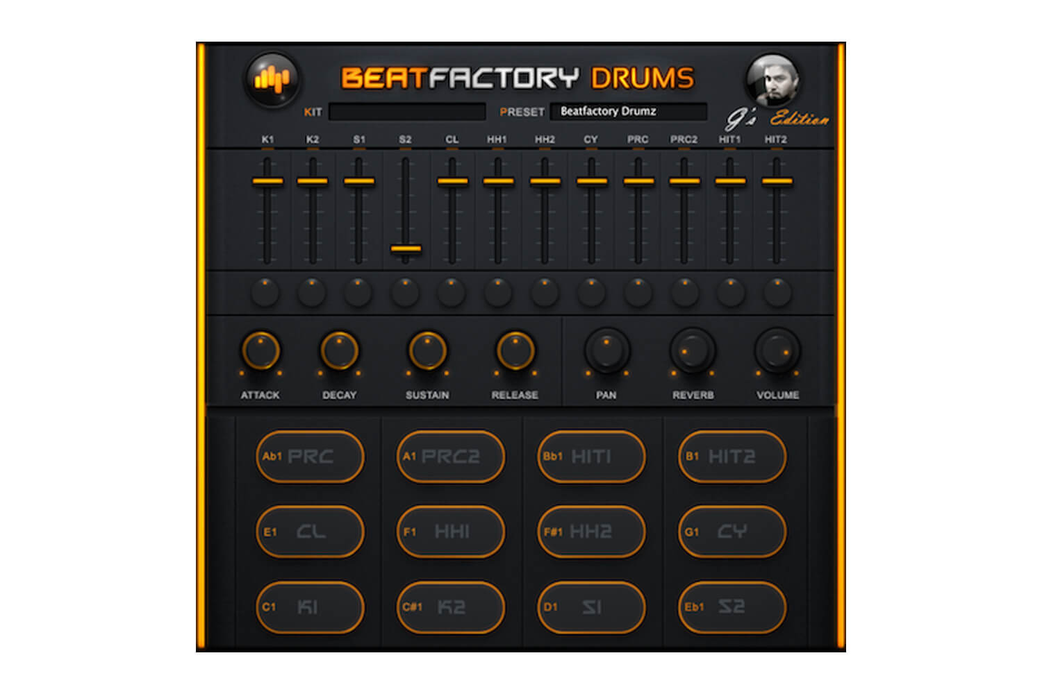 BeatSkillz Beatfactory Drums