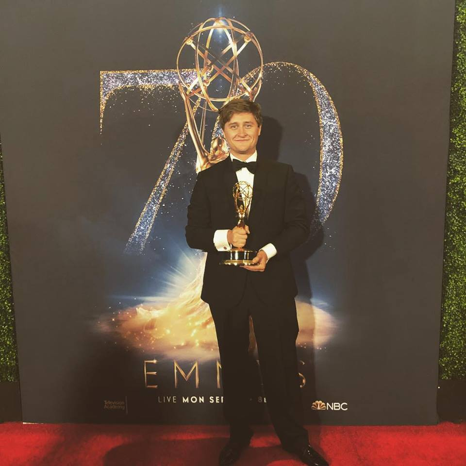 Oli Ferris Emmy Photo