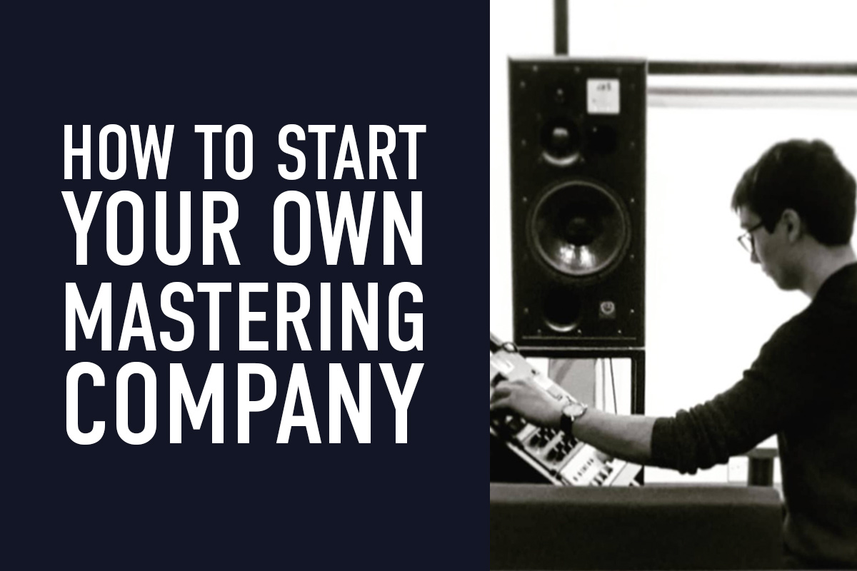 How to start your own mastering company with Tobias Crane (Featured Image)